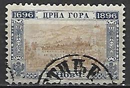 MONTENEGRO    -    1896.   Y&T N° 30 Oblitéré . - Montenegro