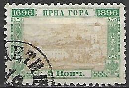 MONTENEGRO    -    1896.   Y&T N° 33 Oblitéré . - Montenegro