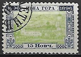 MONTENEGRO    -    1896.   Y&T N° 35 Oblitéré . - Montenegro