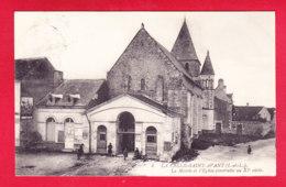 F-37-La Celle Saint Avant-01Ph  La Mairie Et L'église Construite Au XI ème Siècle, Cpa BE - Francia