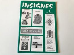 Catalogue INSIGNES N°5 Vol 2  - Special Materiels Allemands - 1977 - Catalogues