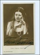 Y10528/ Gräfin Agnes Esterhazy Original Autogramm Ross Foto AK  - Autographs
