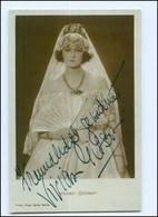 Y10526/ Vivian Gibson Aus Großbritannien Original Autogramm Ross Foto AK  - Autographs