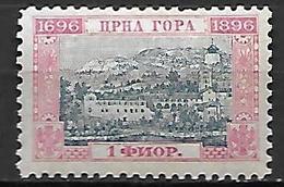 MONTENEGRO    -    1896.   Y&T N° 40 *. - Montenegro