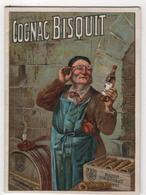 CALENDRIER 1937 Cognac Bisquit - Calendars