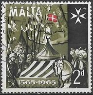 MALTA 1965 400th Anniv Of Great Siege - 2d - Turkish Camp FU - Malte