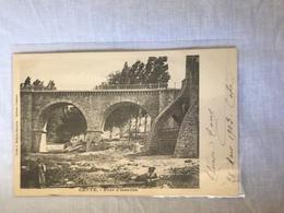 34 Cette 1903 Pont Issanka Arches Filettes Enfants - Francia