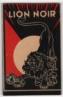 CALENDRIER 1932 Cirage Lion Noir - Calendars