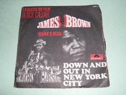 Rare Disque Vinyle 45T 45 Tours James BROWN Mama's Dead, Black Ceasar - Soul - R&B
