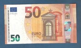 EURO -OLANDA - 2017 - BANCONOTA DA 50 EURO DRAGHI SERIE PB (P007B1) - NON CIRCOLATA (FDS-UNC) - IN OTTIME CONDIZIONI. - EURO