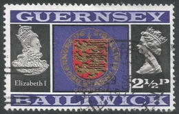 Guernsey. 1969 Definitives. 2½p Used. SG 48 - Guernsey