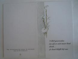 Doodsprentje Marcel Van Goethem Berlaar 1930 2004 Wed Anneliese Hüsch Steurs Silentio - Images Religieuses