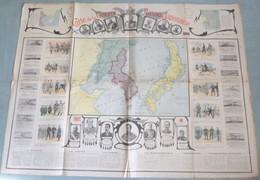 Carte De La Guerre RUSSO-JAPONAISE (1904/05). - Cartes Géographiques