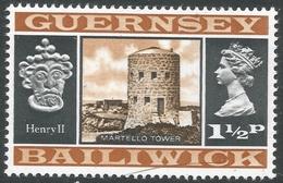 Guernsey. 1969 Definitives. 1½p MH. SG 46 - Guernsey