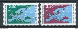 FRANCE 1991 . Service N°s 106 Et 107 . Neufs ** (MNH) - Nuovi