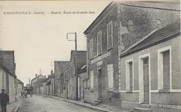 ENGENVILLE - Mairie, école Et Grand-Rue - France