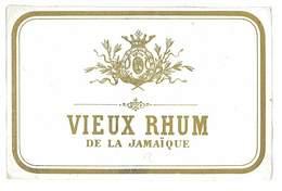 ETIQUETTE ALCOOL VIEUX RHUM DE LA JAMAIQUE - Rhum