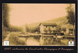 52 - Centenaire Du Canal Entre CHAMPAGNE Et BOURGOGNE Avec écluse à Identifier ? - Ohne Zuordnung