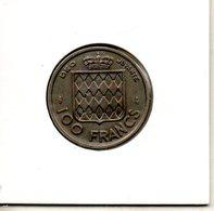 Monaco. 100 Francs 1956 - Monaco