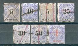 ALLEMAGNE ; Télégraphe ;1873-75 ; Lot: 01 ; Oblitéré - Allemagne