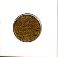 Monaco. Rainier III. 20 Francs 1951 - Monaco