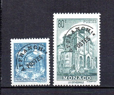 Préoblitéré Monaco 1943-51 N° Y&T   1/2   Neuf/s (sans Charniére) - Monaco