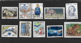 ITALIE 2378 à 2383/2390/2391/2398/2398A Oblitérés Rond - 6. 1946-.. República
