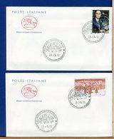 ITALIA - FDC CAVALLINO 2001 -  ENRICO FERMI - QUARTO STATO - 6. 1946-.. Repubblica