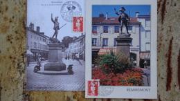 1er Jour Remiremont 88 Depart Des Volontaires 1992 - FDC