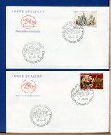 ITALIA - FDC CAVALLINO 2001 -  UNIONE LATINA - MUSEO ARCHEOLOGICO TARANTO - 6. 1946-.. Repubblica