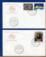 ITALIA - FDC CAVALLINO 2001 -  NATALE - MACRINO D'ALBA - 6. 1946-.. Repubblica