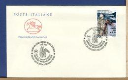 ITALIA - FDC CAVALLINO 2001 -  BOLZANO - MUSEO ARCHEOLOGICO ALTO ADIGE - SUDTIROLER ARCHAOLOGIEMMUSEUM - Archeologia