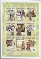 Mali 1998;  Chess Ajedrez;  2x S/s With Perforation Difference - Mali (1959-...)