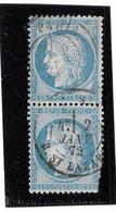 TIMBRES N°60/1 ;87/97  B2  ; BIEN CENTRÉS ; DANS L'ÉTAT; (N° 97 ABIMÉ , MAIS PEU COURANT) TB - 1871-1875 Cérès