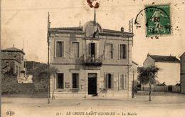 CPA Le Creux-Saint-Georges La Mairie - Other Municipalities