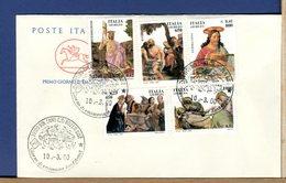ITALIA - FDC CAVALLINO 2000 -  GIUBILEO - 6. 1946-.. Repubblica