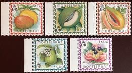 Montserrat 1999 Caribbean Fruits MNH - Frutta