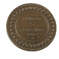 5 Centimes - Tunisie - 1914 - Bronze - TB+ - - Túnez