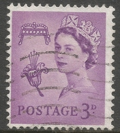 Guernsey. 1958 Regional Issue. 3d Used. SG 7 - Guernsey
