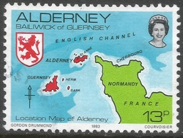 Alderney. 1983 Island Scenes. 13p Used. SG A7 - Alderney