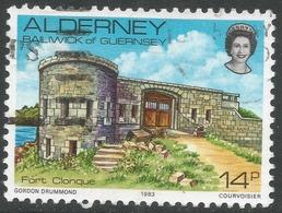Alderney. 1983 Island Scenes. 14p Used. SG A8 - Alderney