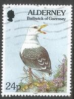 Alderney. 1994 Flora And Fauna. 24p Used. SG A72 - Alderney