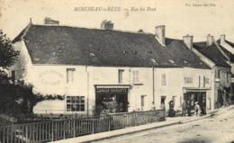 C 0896 - Mirebeau - Sur Bèze  (21) Rue Du Pont Cordier - Poinsotte   Tabac    Sabots Gaoches  Vannerie - Mirebeau
