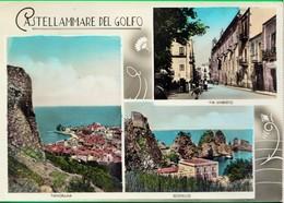 CASTELLAMMARE DEL GOLGO. Trapani. Scopello. Via Umberto. Vedutine. Saluti Da... - Trapani