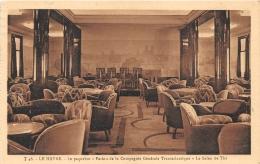 PAQUEBOT PARIS    SALON DE THE - Dampfer