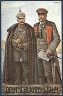 Deutschlands Stolz ! - Kaiser Wilhelm U. Hindenburg - Art Fischer - Guerre 1914-18