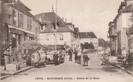 Jura : MOUCHARD : Route De La Gare - France