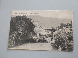 CARTOLINA VALLO TORINESE - ENTRATA AL PAESE - Italie
