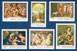"Rumänien  1968 ,  "" Gemälde ""   Mi. 2706-11   Postfrisch / MNH / Nouveau - Arte"