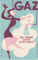 Buvard  - Eau Chaude Gaz  -  Signé Colin Illustrateur - Ohne Zuordnung